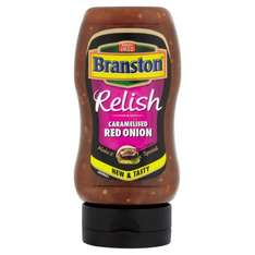 Branstons burger relish caramelised red onion 10p @ B&M