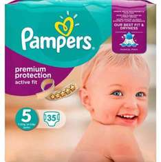 Online only - 5 for £20 on selected Pampers Essential packs & New Baby Sensitive 4 pack wipes @ Boots