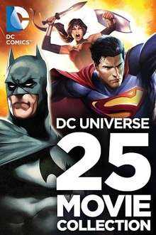 DC Universe 25 Movie Collection - Massively reduced at Google Play Store - £49.99