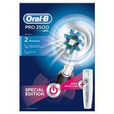 Oral B Pro 2500 toothbrush with Travel Case from £75 to £30 at ASDA