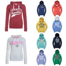 Womens Superdry Hoodies £19.99 @ Superdry Official eBay store - Variety of designs/sizes