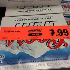 Two 12x330m Coors Light for £14 @ Lidl