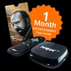 Now TV Black Box Refurb, With 1 Months Entertainment £4.85 Delivered @ Shopto