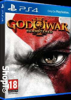 God of War III: Remastered (PS4) £10.85 Delivered @ Shopto