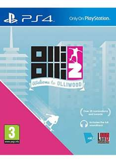 Olli Olli 2: Welcome to Olliwood (PS4) £8.99 Delivered @ Base