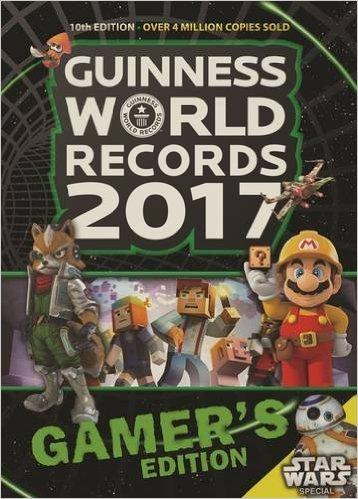 Guinness World Records 2017 Gamer's Edition (Paperback) Amazon £2 (Prime)