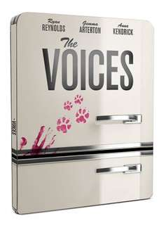 The Voices: Limited Edition Steelbook [Blu-Ray] £4.99 (Prime) @ amazon