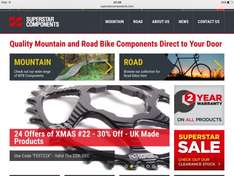 30% off at Superstar Components for one day only