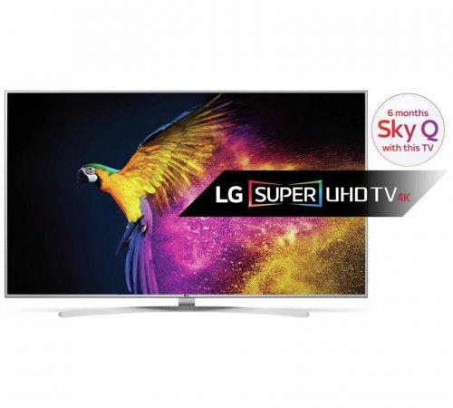 LG 55UH770V 55 Inch Super UHD 4K Smart LED TV £829 @ Argos