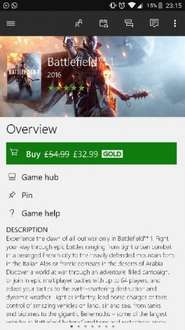 Battlefield 1 Xbox One on Xbox Store with Gold £32.99
