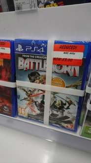 Battleborn PS4 (includes Firstborn pack and character cards) £3 in Asda Farnborough