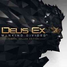Deus ex makind divided digital deluxe edition £25.49 with ps plus @ psn store