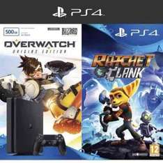 PS4 (500GB) Ratchet & Clank + Overwatch (Origins Edition) + Now TV Sky Cinema 2 Month Pass - £199.99 @ Game