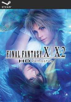 FINAL FANTASY X/X-2 HD REMASTER [PC DOWNLOAD] £10.00 Square Enix store - redeem on Steam
