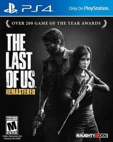 The Last Of Us remastered £15 PS4 Morrison's