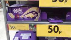 Milka chocolate only 50p lots of flavours at morrisons