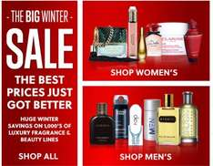 The big winter sale starts now at allbeauty
