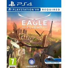 PS4 Eagle Flight (PS VR) £26.49 for Prime Members. £28.49 without @ Amazon