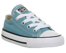 Converse All star baby shoes were £24.99 now £15, Womens Converse Dainty were £44.99 now £25, Mens Converse All star low were £49.99 now £30 flash sale @ Office