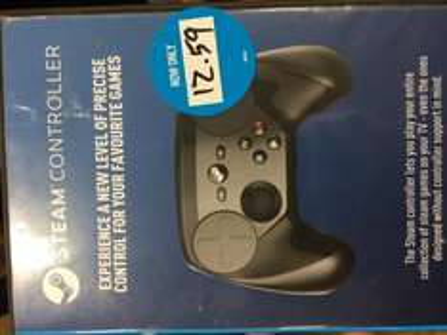 Steam Controller (no case) £12.59 @ Game instore