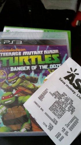 TMNT Danger Of The Ooze PS3 £5 @ asda Bradford