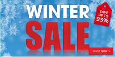 The BOOK PEOPLE winter sale: up to 93% off RRP