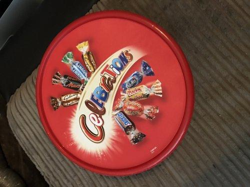 Tub of celebrations - £3.00 - Home Bargains