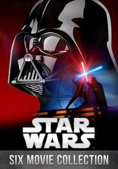 Star Wars 6 Movies Collection for £19.50 on Google Play, with 50% off voucher