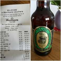 Wooden Hand Brewery - Pirate's Gold 500ml bottle £1 each in store @ morrisons (Tiverton)