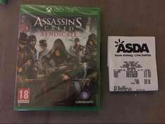 Assassin's Creed Syndicate Xbox One @ ASDA instore (Harpurhey, Manchester branch) - £10
