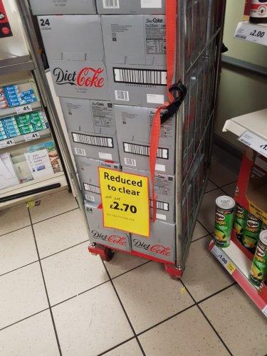 24 x Diet Coke only £2.70. Dated til June 2017 instore @ Tesco