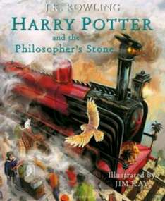 Harry Potter and the Philosopher's Stone: Illustrated Edition Book now £13.99 and free delivery on Amazon