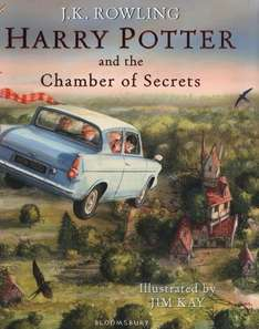 Harry Potter and the Chamber of Secrets: Illustrated Edition Book £14.49 and free delivery on Amazon