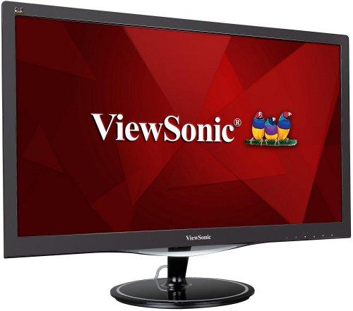 ViewSonic 24-Inch Gaming Monitor FreeSync 75hz 1920 x 1080, 1 ms, VGA/HDMI/DisplayPort - £96.18