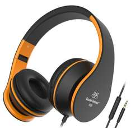 Sound Intone I68 Foldable Portable 3.5mm High-Performance Over-ear Headphones £8.99 @ Amazon