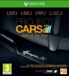 Project Cars GOTY Edition Xbox One £16.60 from mediamerchuk@ebay including next day delivery