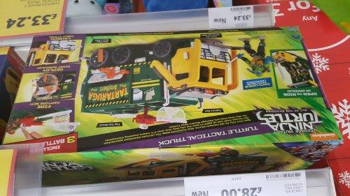 Ninja turtles Turtle Tactic Truck £22.93 instore @ Tesco Brent Park
