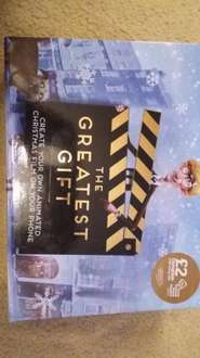 The Greatest Gift Christmas film box from Sainsbury's