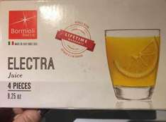 Bormioli Rocco 'Electra' Juice Glasses (use for Nespresso Lattissima) £4.99 @ TKMaxx