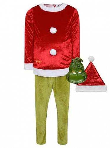 Dr Seuss The Grinch adults fancy dress £8 at checkout Asda