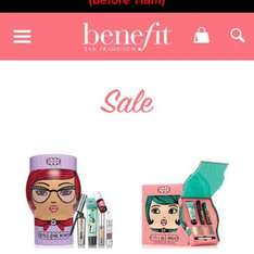 Benefit Sale now live