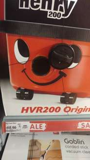 Henry Numatic NV200 vacuum cleaner - £68.96 in store only at Asda