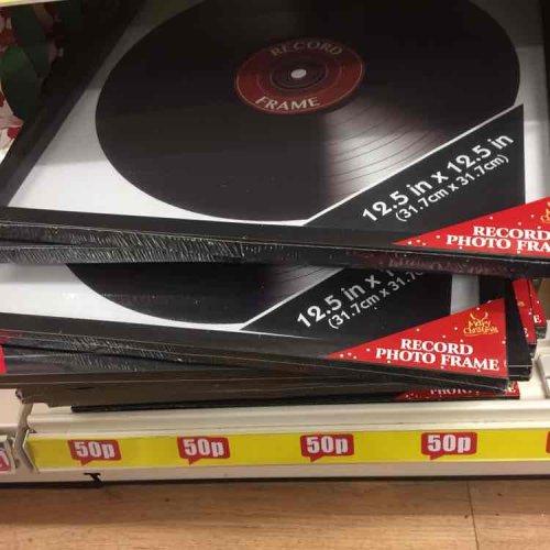 Record Frame - Poundland for 50p
