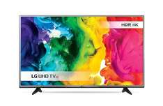 LG 55UH605V 55 inch Ultra HD 4K Smart TV WebOS (HDR Pro, Local Dimming, ColorPrime Pro, Ultra Surround) - Silver - £550.05 @ Amazon