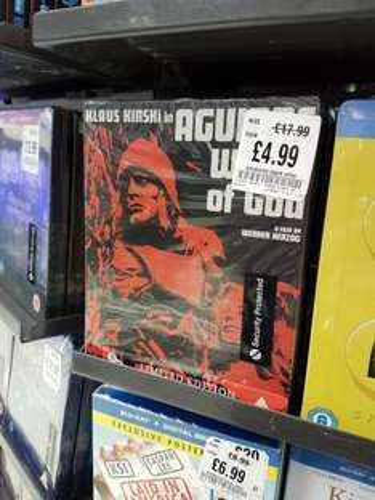 Aguirre, Wrath of God (Limited Edition Steelbook) [Blu-ray] £4.99 in store @ Hmv