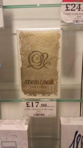 Roberto Cavalli 100ml £17.99 @ Home bargains