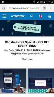 25% off your entire order & a FREE Flapjack Box when you spend over £40! @ myprotein