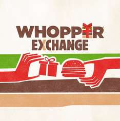 Trade in Unwanted Gifts for Free Whopper- Boxing Day, BK Leicester Square