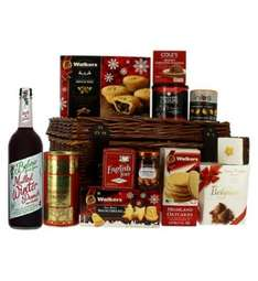 Large Festive Wicker Hamper - Boots was £60 now £30 / or £20 with code