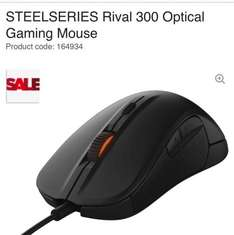 STEELSERIES Rival 300 Optical Gaming Mouse £29.99 @ CURRYS